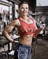 Girl with muscle - Lisbeth Halikka