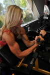 Girl with muscle - Brigette Pace