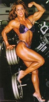 Girl with muscle - myriam bustamante