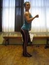 Girl with muscle - Heidi Vonka Koi