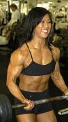 Girl with muscle - susan kodaira