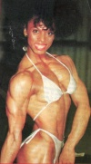 Girl with muscle - Linda Forbin