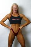 Girl with muscle - Sandra Wickham