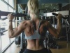 Girl with muscle - Back