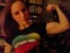 Girl with muscle - Nicole B (Romantic1983@Bodyspace)