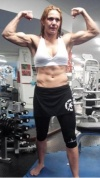 Girl with muscle - Cristiane Santos (Cris Cyborg)