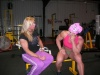 Girl with muscle - Sherry Smith (L) Isabelle Turell(R)