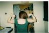Girl with muscle - biflexer