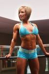 Girl with muscle - melissa pearo