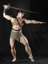 Girl with muscle - Barbara Carita