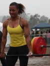 Girl with muscle - Candace Hamilton (xfit)