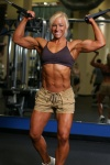 Girl with muscle - Laurie Smith