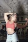 Girl with muscle - Teri Mooney