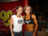 Girl with muscle - Monica Brant (left), Danyell Leavitt (right)