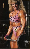 Girl with muscle - Sandy Riddell