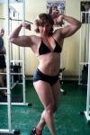 Girl with muscle - Irina Derkacheva