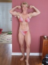 Girl with muscle - Krista Schaus