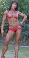 Girl with muscle - elise kent