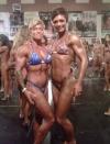 Girl with muscle - Adriane Sheppard (L) - Melissa Binkley (R)