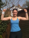 Girl with muscle - Laura