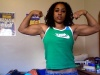Girl with muscle - Courtney Whitfield