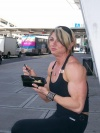 Girl with muscle - Mary Hobbs