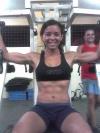 Girl with muscle - manu malahada
