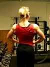Girl with muscle - Shoulders