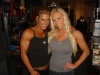 Girl with muscle - amanda savell (l) jessica paxson (r)