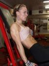 Girl with muscle - Jolanta Mileriute
