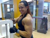 Girl with muscle - larissa cunha