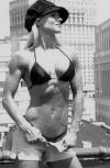 Girl with muscle - Tara Hampton