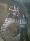 Girl with muscle - Sandra Rodland / ???