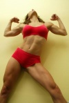 Girl with muscle - Kristina Gaston