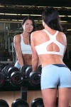Girl with muscle - Butt