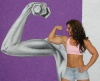 Girl with muscle - Megan Abshire