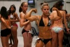 Girl with muscle - Danielle Reardon and Theana Hinrichs (background)