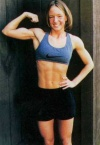 Girl with muscle - Christi Carper