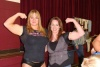 Girl with muscle - Becca Swanson (L), Christina McDowell (r)