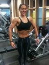 Girl with muscle - Teneka Hyndman