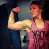 Girl with muscle - Kristen Sesak