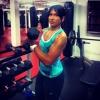 Girl with muscle - saudi