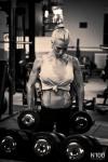 Girl with muscle - Cornelia Ritzke