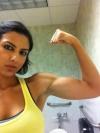 Girl with muscle - Nicole