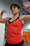Girl with muscle - irina