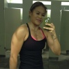 Girl with muscle - melissa