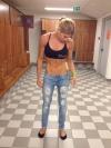 Girl with muscle - Anna Lundgren Annas