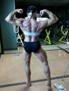 Girl with muscle - Sharyn Lynne Fraser