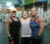 Girl with muscle - Donna Foster (L) - Brenda King (R)
