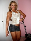 Girl with muscle - janaina ferreira